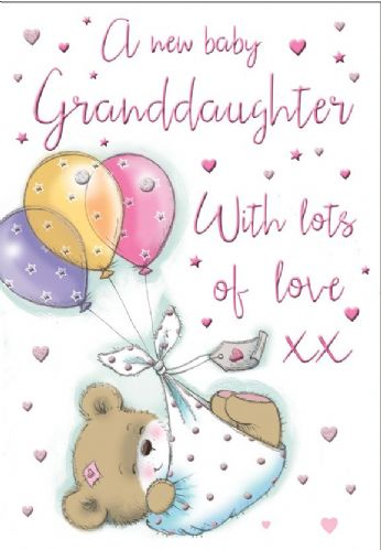 A New Grandaughter With Lots Of Love